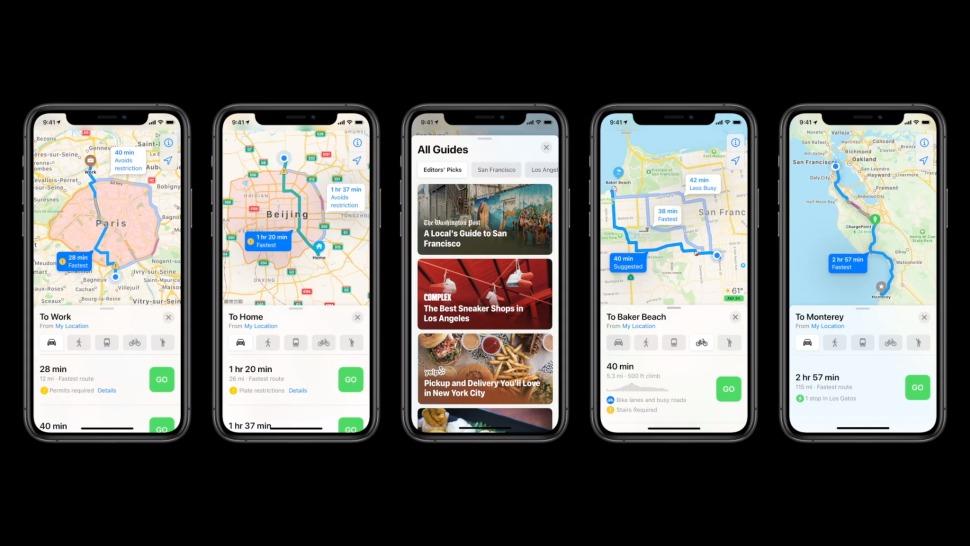novità di iOS 14 mappe