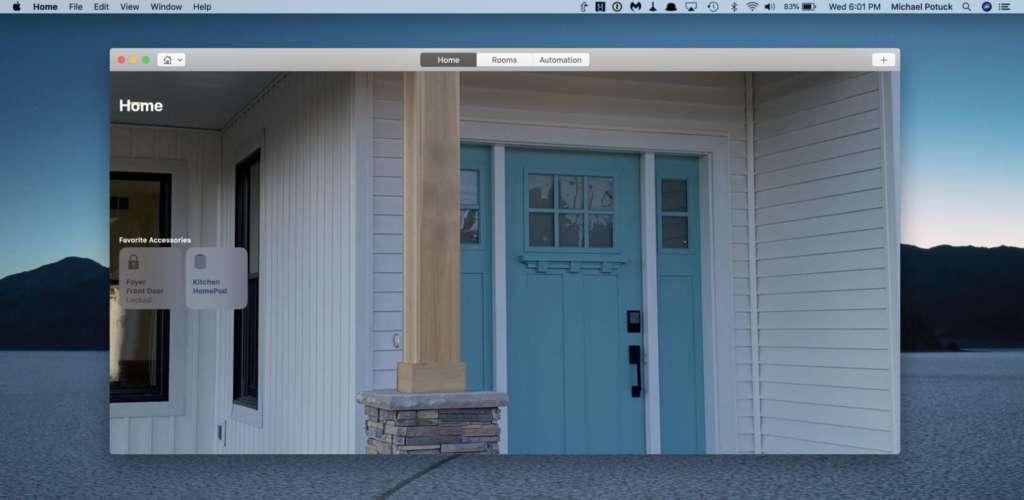 Cambiare sfondo dell'app Casa