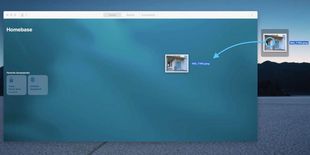 Cambiare sfondo dell'app Casa metodo 1