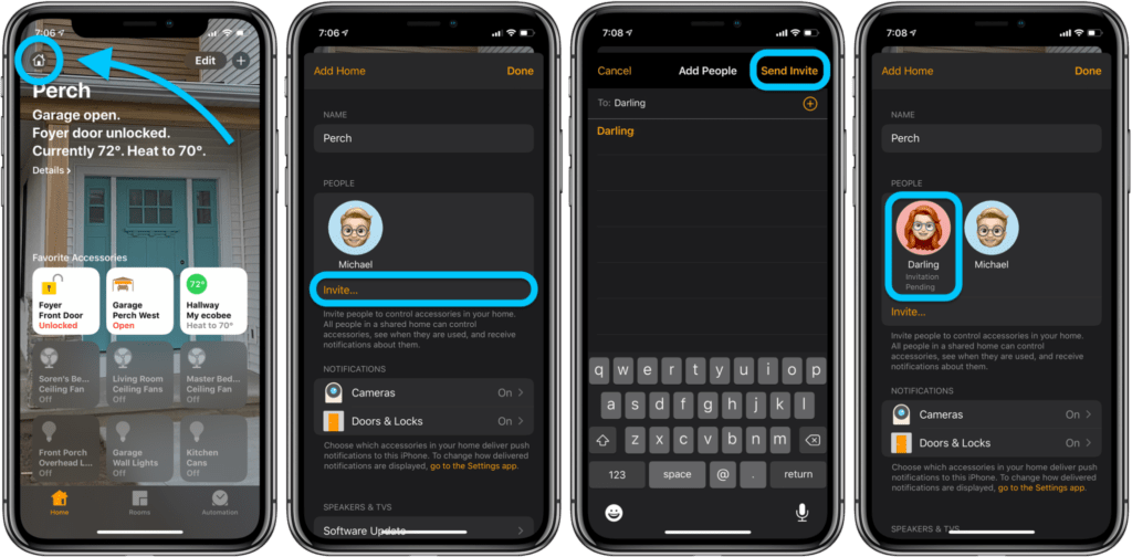 Condividere homekit con gli ospiti su iPhone 1