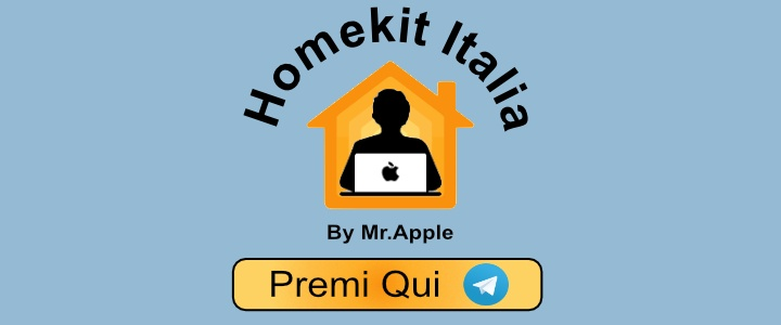 Homekit Italia Telegram By Mr.Apple