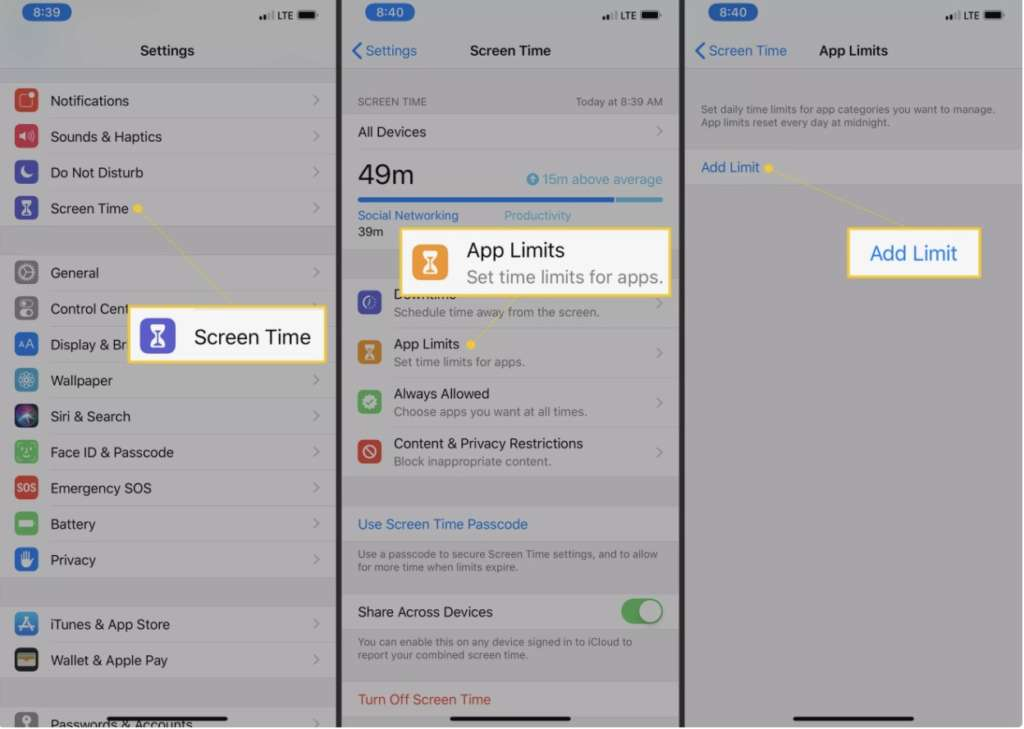 bloccare le app con password su iPhone 2