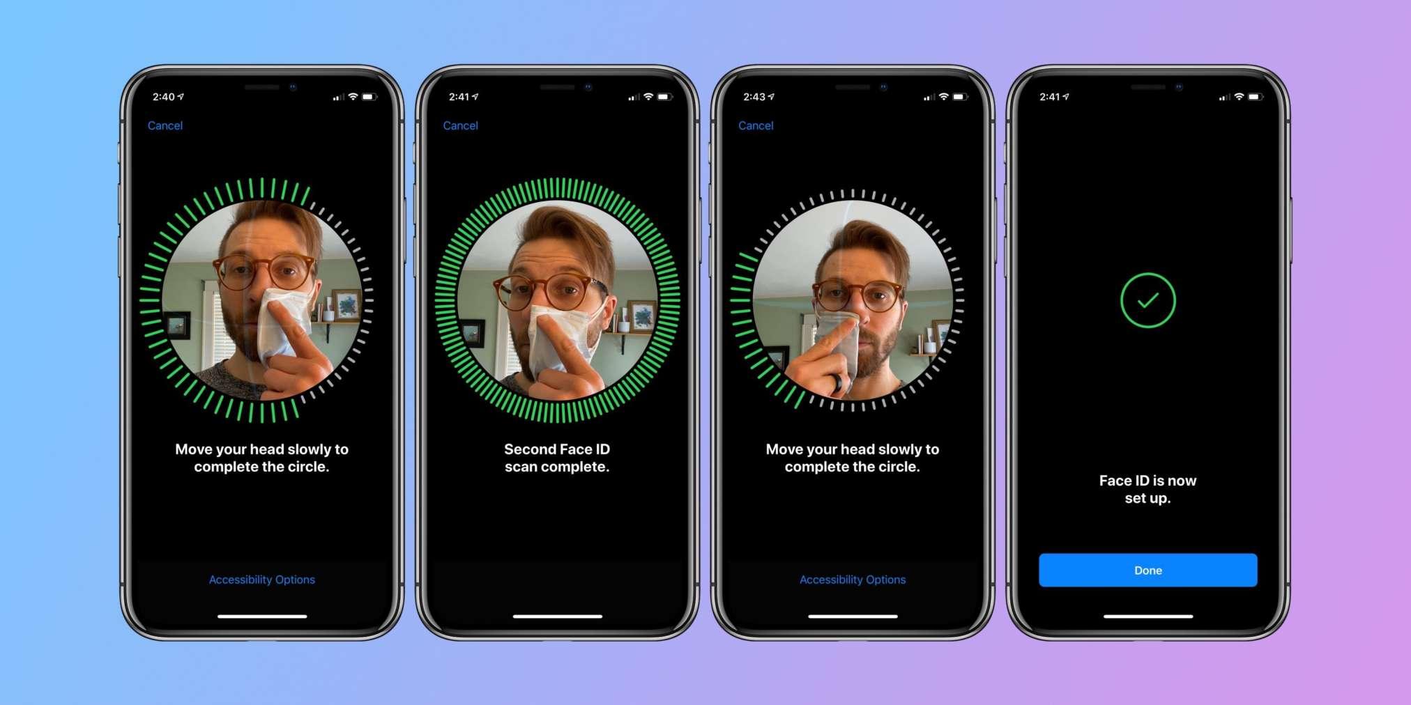 disabilitare il Face ID su iPhone