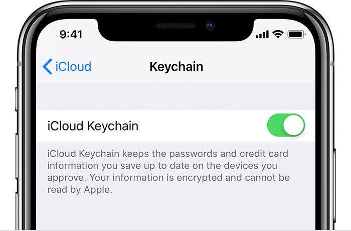 modificare le password su iPhone e iPad