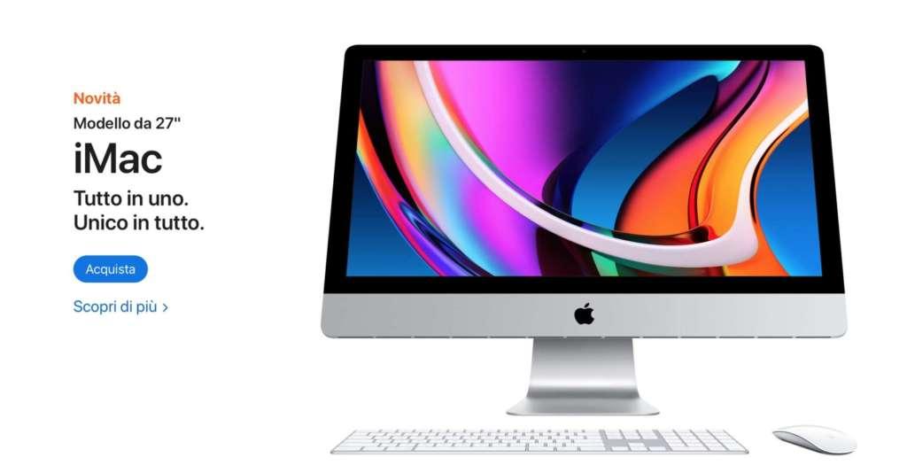 """Apple presenta i nuovi iMac da 27"""""""