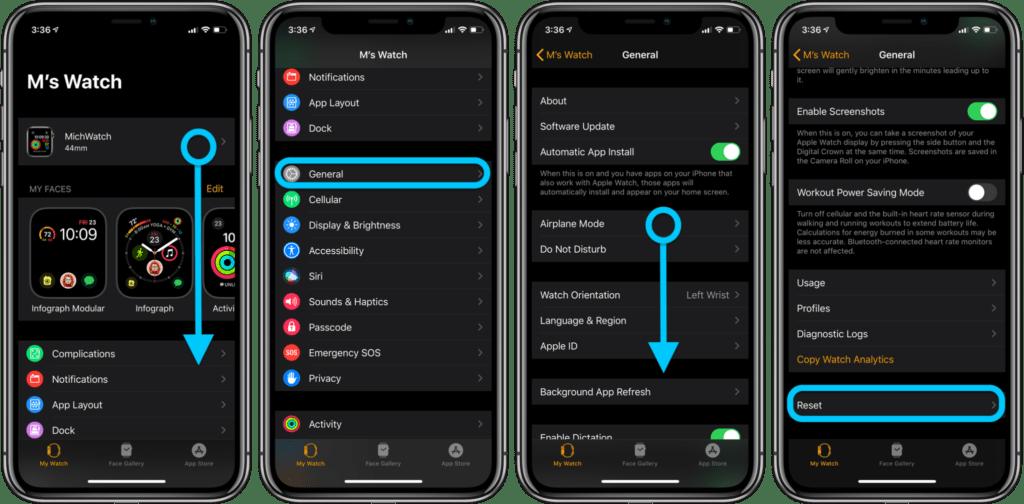 formattare Apple Watch senza iPhone 1