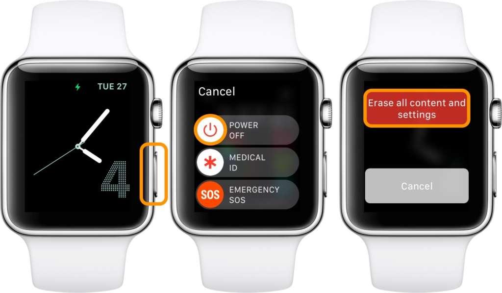formattare Apple Watch senza iPhone 2