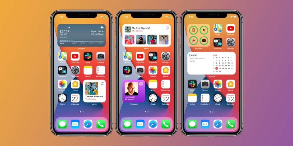 come impostare i widget su iPhone