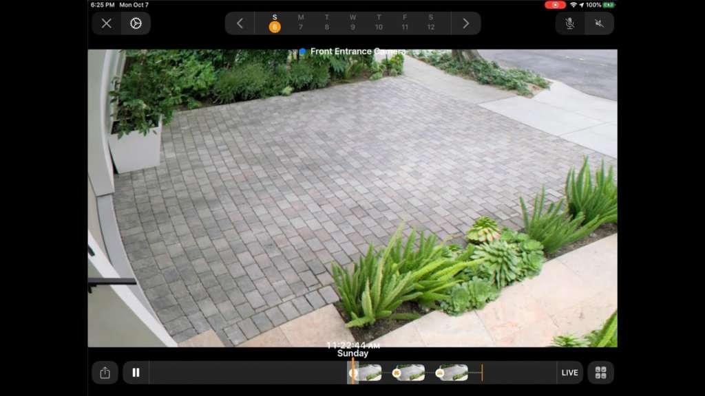 Come funziona Homekit Secure Video anteprima ingresso