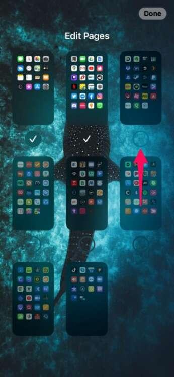 Trucchi iOS 14 nascondere home