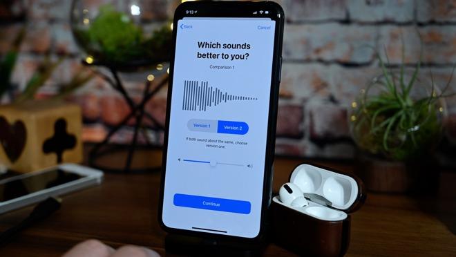 Personalizzare l'audio delle cuffie su iPhone e iPad