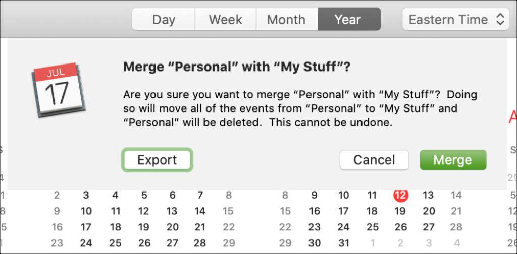 Come unire più calendari iCloud1