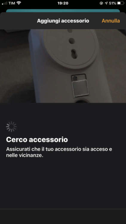 Presa italiana Homekit di Meross 1