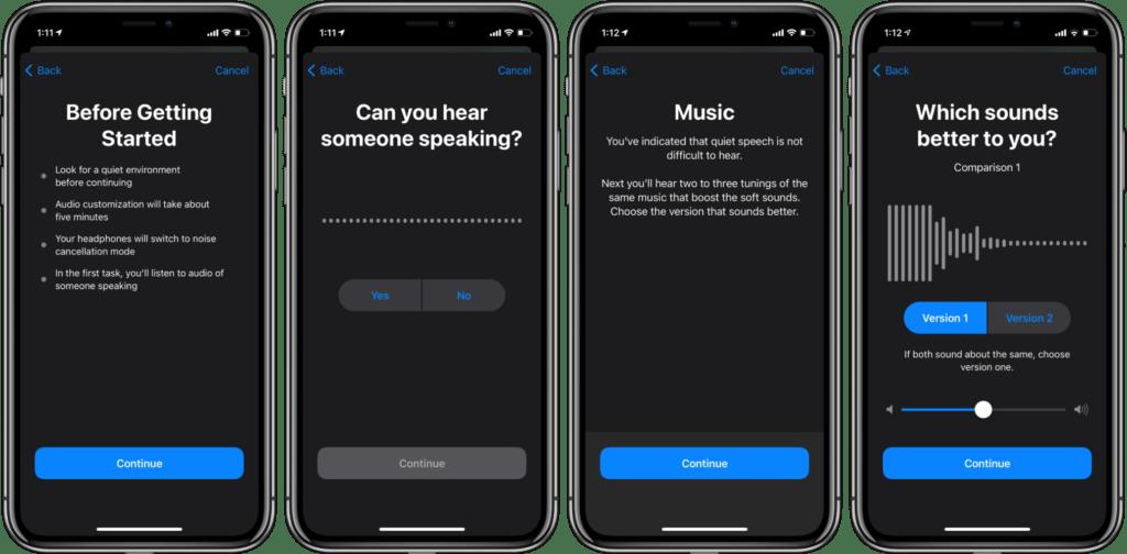 Personalizzare l'audio delle cuffie su iPhone e iPad 3
