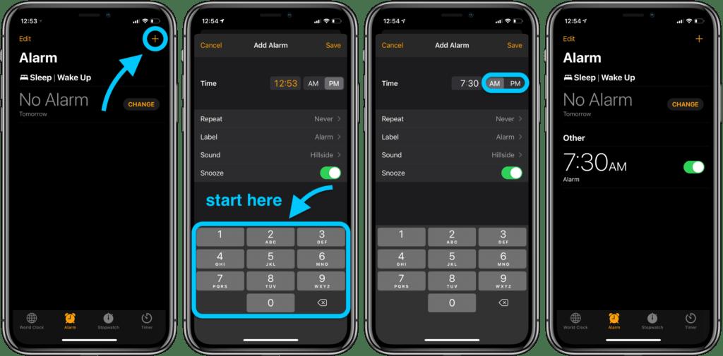 Come usare le sveglie su iPhone 1