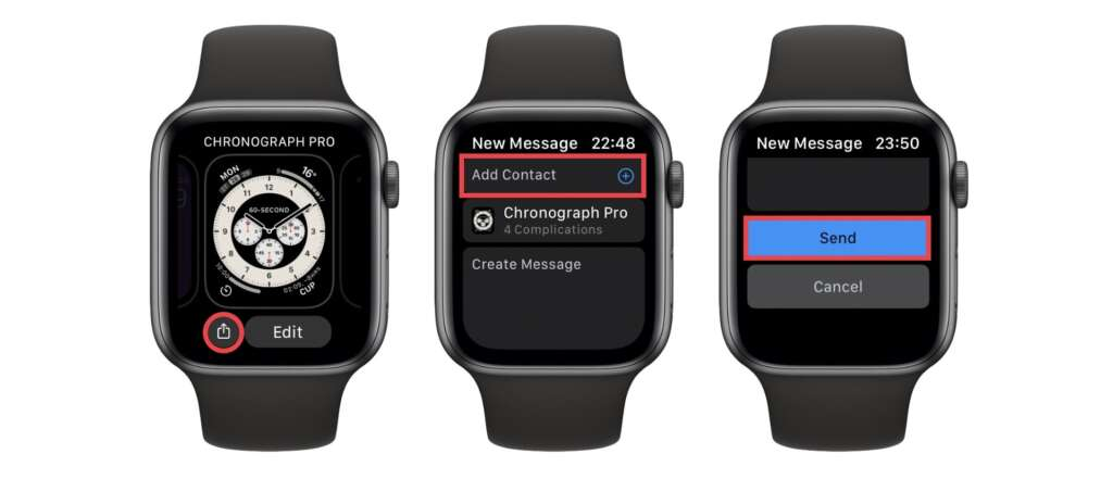 Condividere le WatchFaces con Apple Watch 1