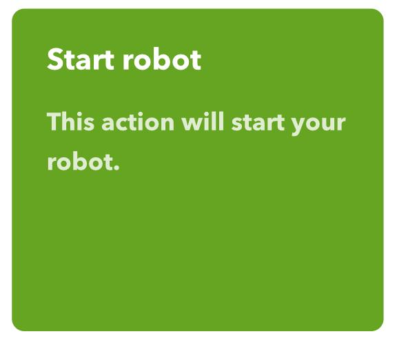 Integrare il Roomba nelle automazioni Homekit start robot