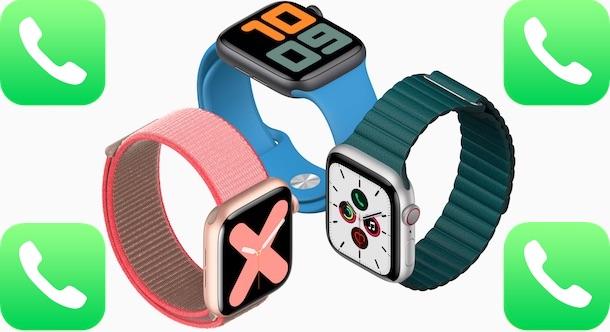 Come chiamare dall'Apple Watch