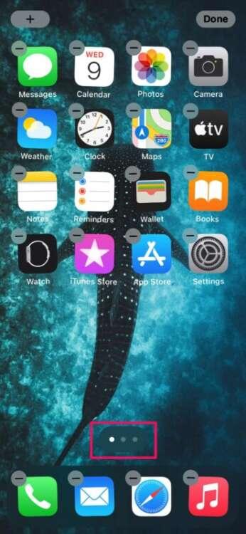Disabilitare la libreria app su iPhone 2