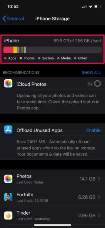 Le foto iCloud non caricano 5