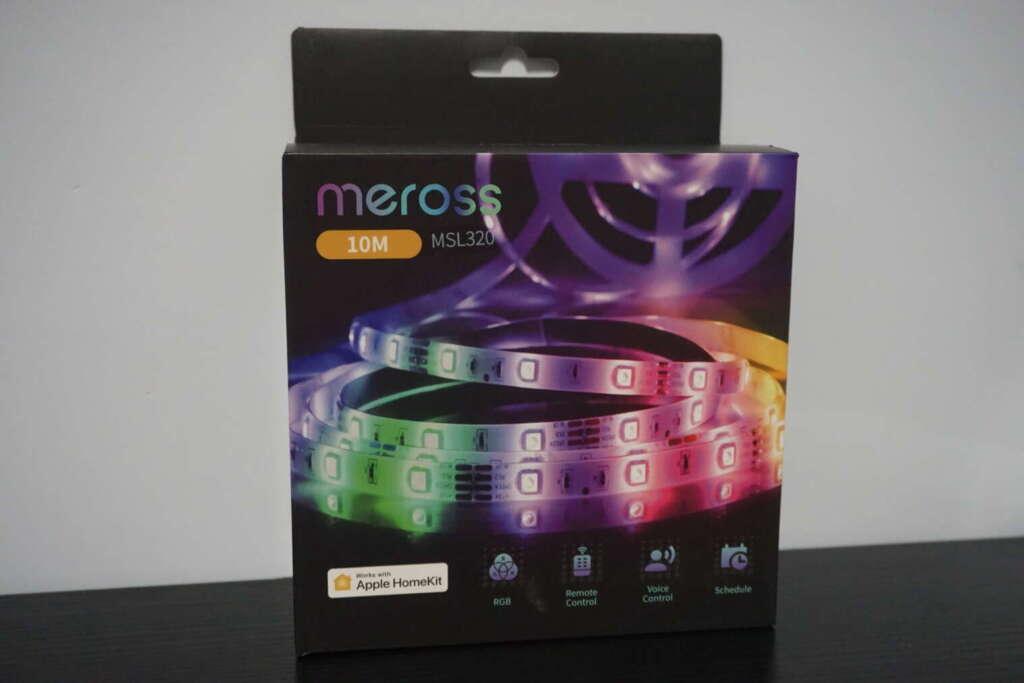 striscia led Homekit di Meross unboxing