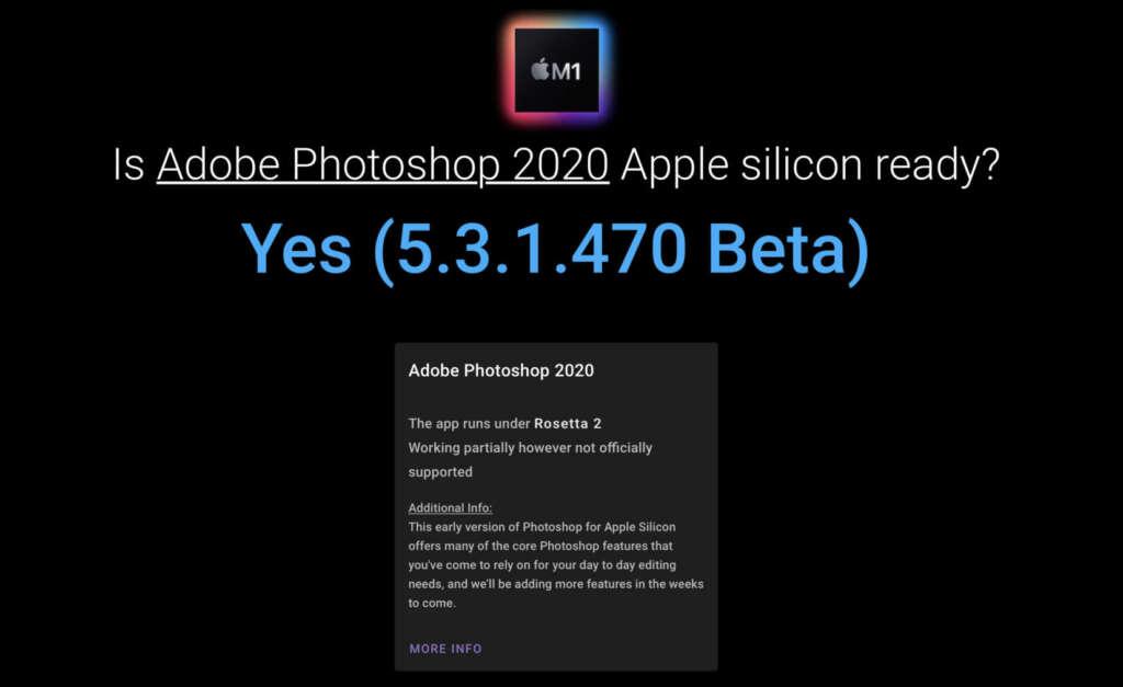App Ottimizzate per Mac M1