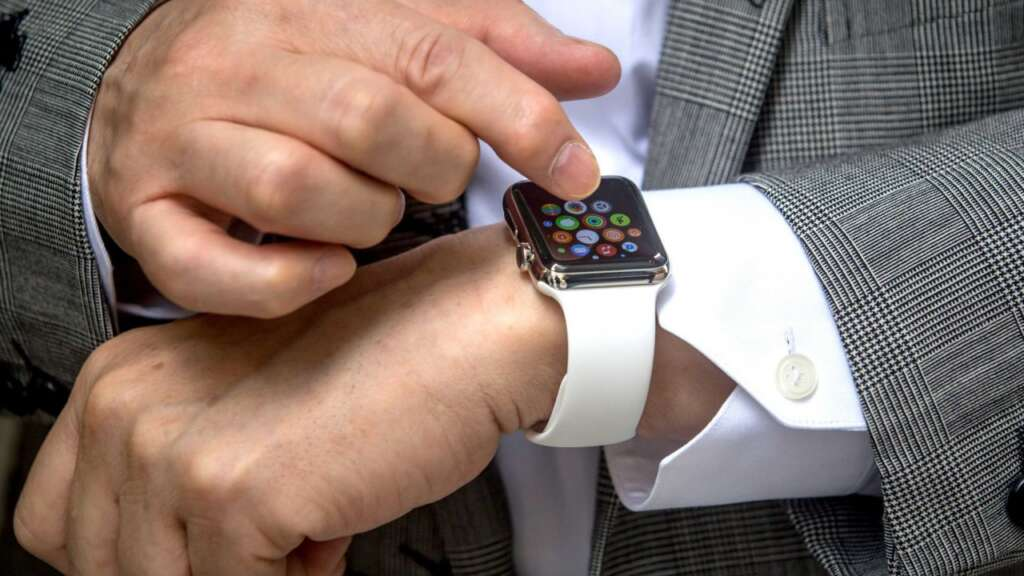 Password complessa su Apple Watch