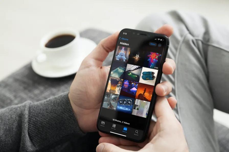 Nascondere gli album nascosti su iPhone