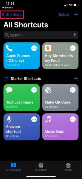 Come organizzare gli shortcuts in cartelle 1