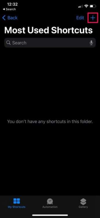 Come organizzare gli shortcuts in cartelle 5