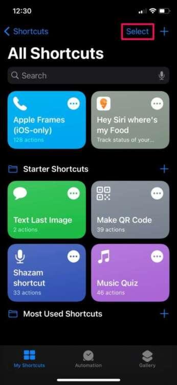 Come organizzare gli shortcuts in cartelle 6