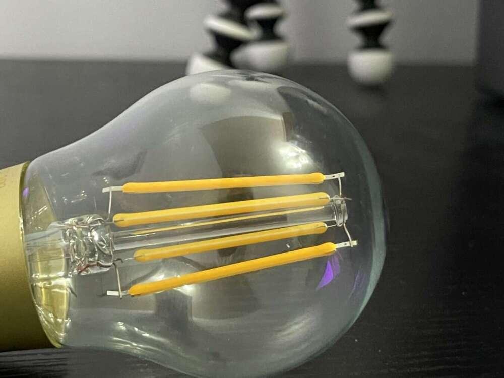Lampadine vintage homekit di Meross filamento
