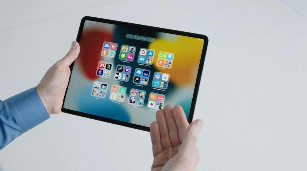 iPadOS 15 foto