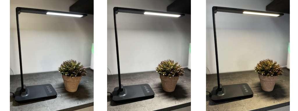 Lampada da scrivania Homekit di Meross tonalità di luce