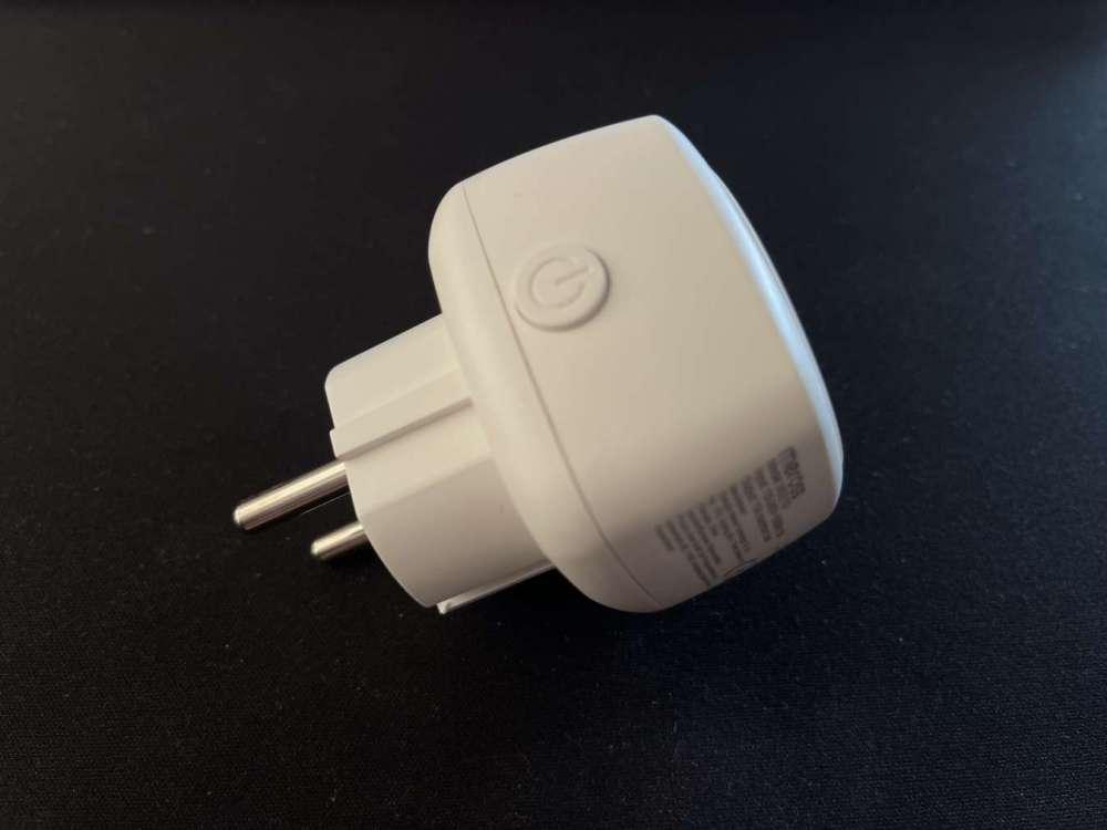Presa smart Mini Homekit di meross pulsante