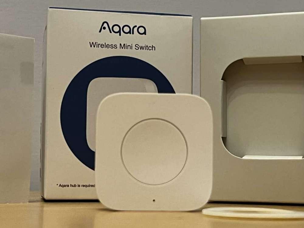Aqara wireless mini switch 2