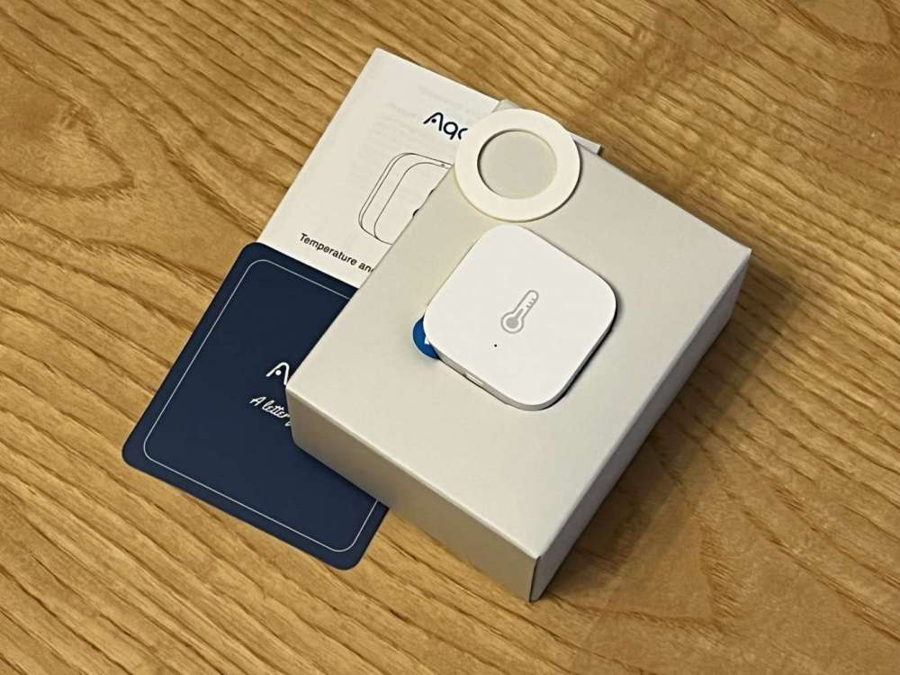 Sensore Aqara temperatura e umidità unboxing